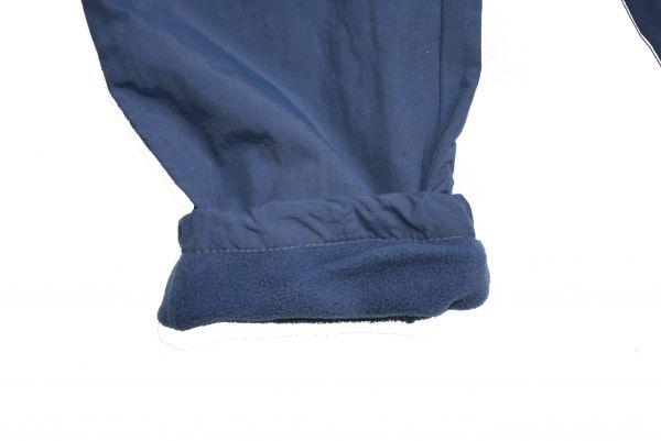 Штаны демисезонные на флисе синие Pidilidi