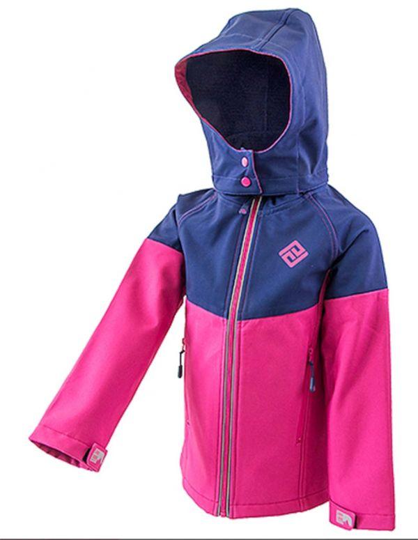 Демисезонная термокуртка softshell Лайн PIDILDI для девочек