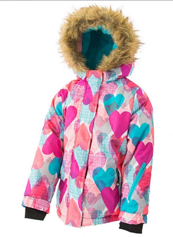 Зимний комплект (куртка+полукомбинезон) Любимка Pidilidi с голубыми штанами