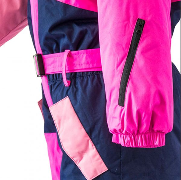 Зимний сдельный лыжный термокомбинезон Мейнстрим PIDILIDI розовый