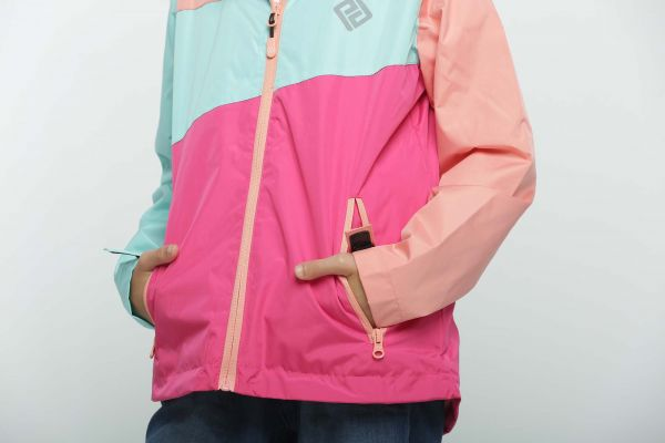 Демисезонная термокуртка Грани OUTDOOR Pidilidi для девочки