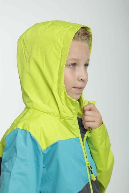 Демисезонная термокуртка Грани OUTDOOR Pidilidi для мальчика Колейдоскоп