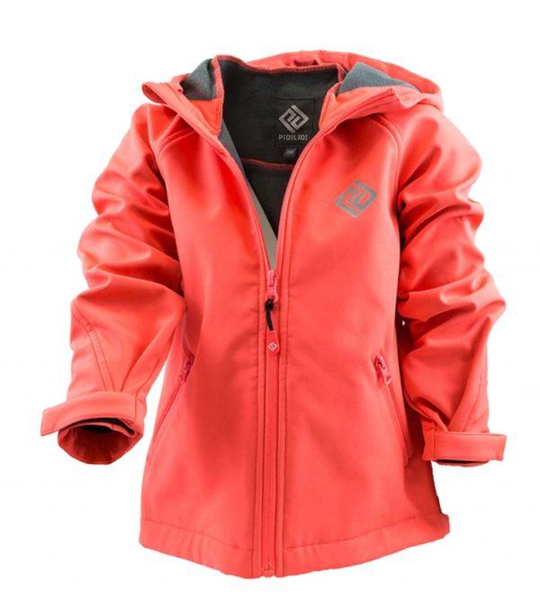 Демисезонная термокуртка softshell PIDILDI для девочек