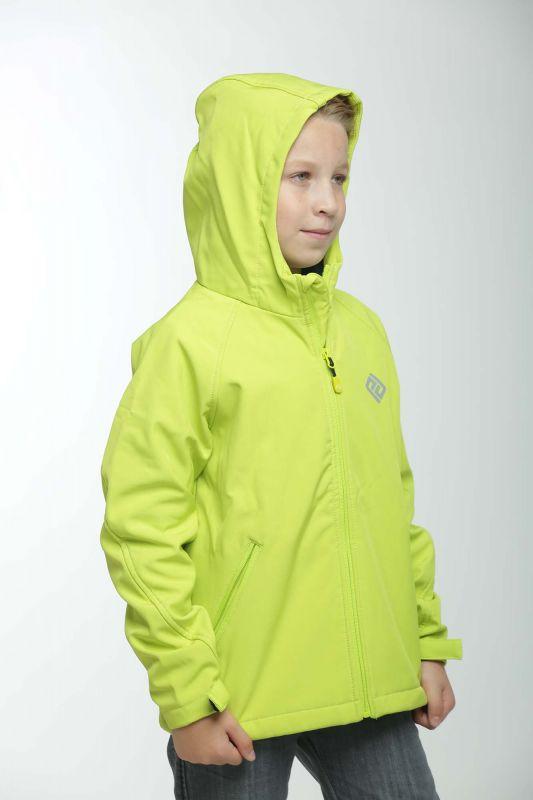 Демисезонная термо куртка softshell Лайм PIDILDI