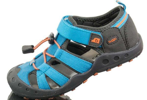 Летние спортивные сандалии Bugga голубые