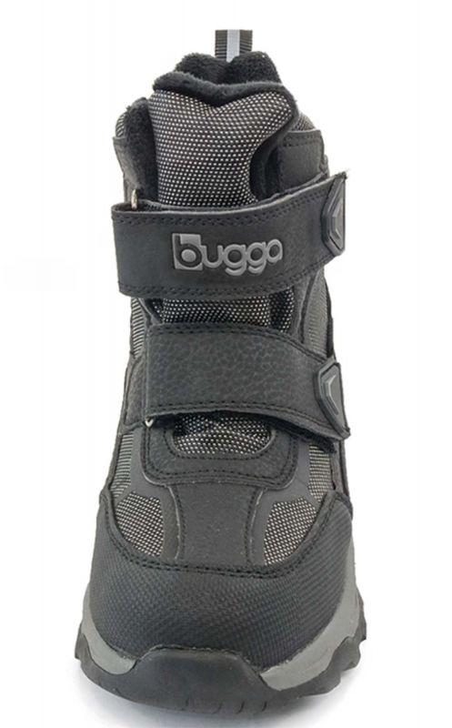 Зимние термоботинки Bugga Waterproof чёрные