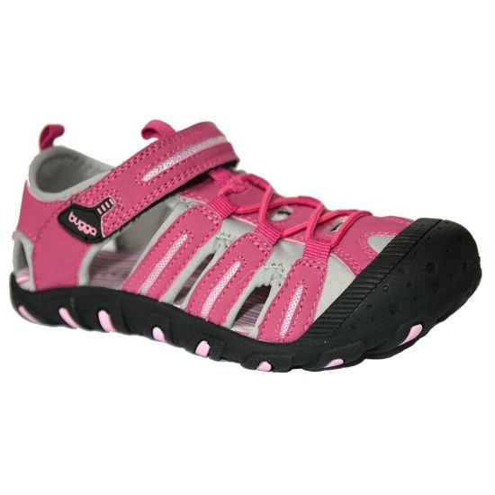 Спортивные сандалии с прорезиненным носком Bugga розовые