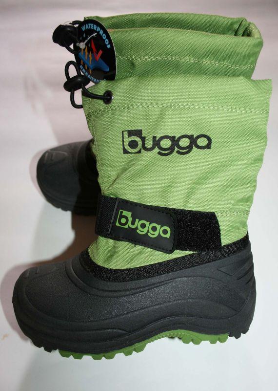 Зимние сноубутсы BUGGA зелёные