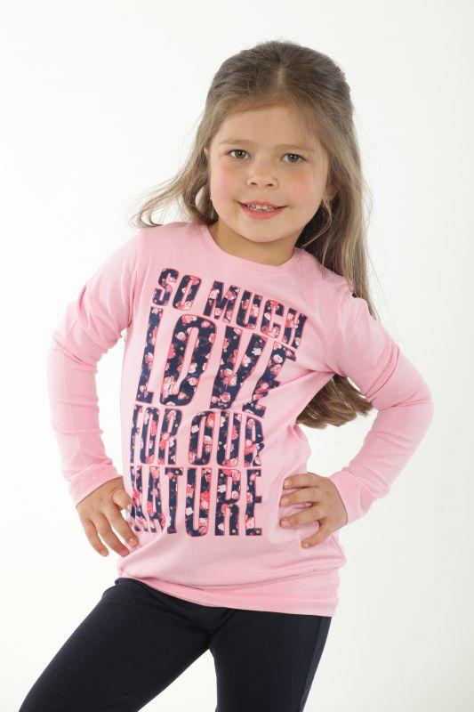 Туника розовая для девочки ТМ Wendee